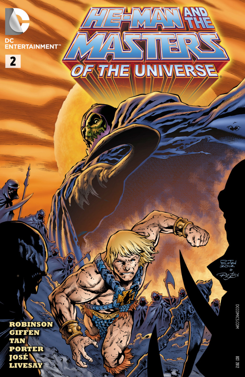 Couverture de He-Man and the Masters of the Universe (2012) -2- Desert Storm