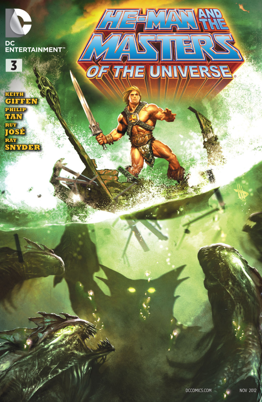 Couverture de He-Man and the Masters of the Universe (2012) -3- Blood Tide