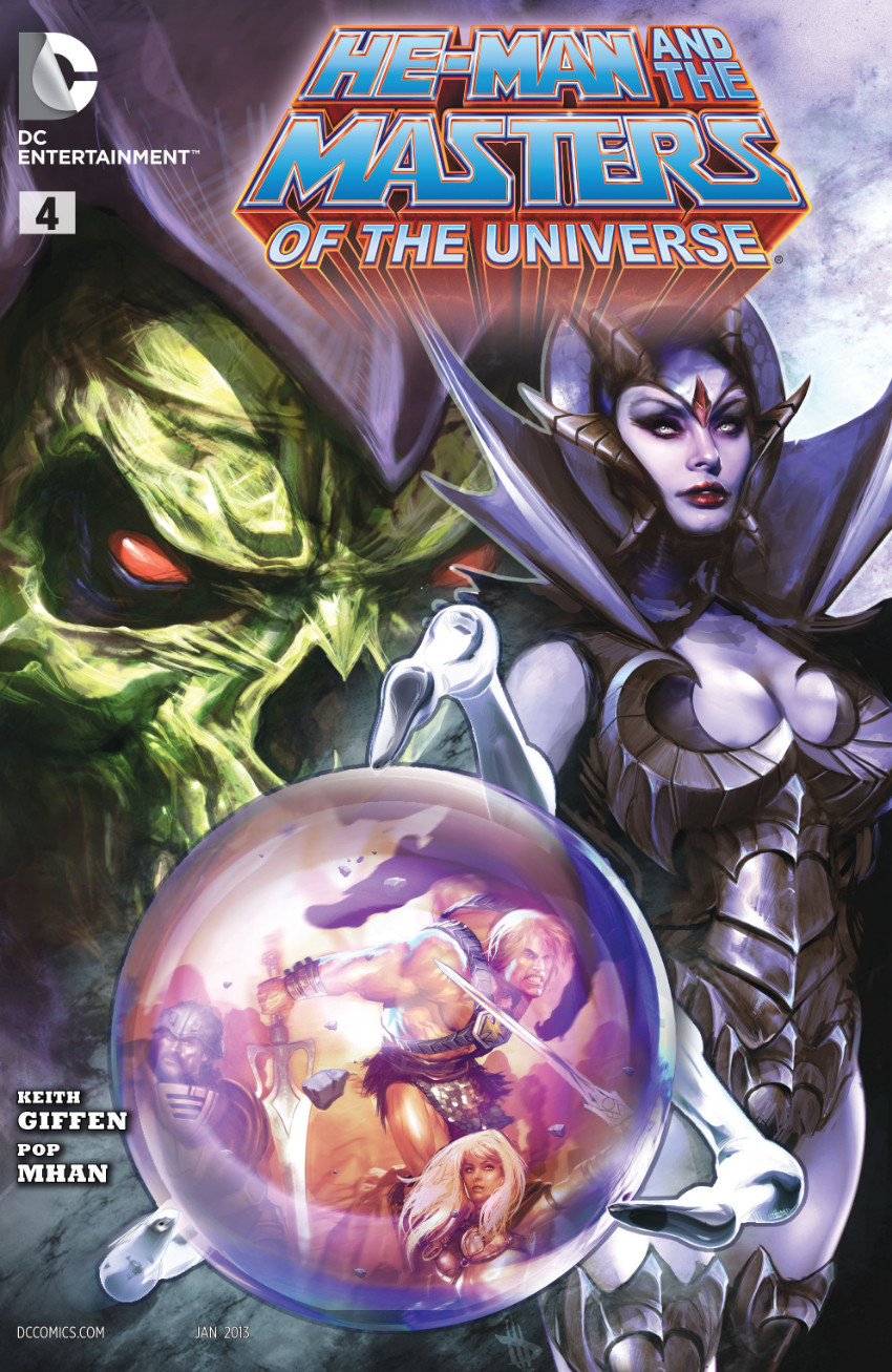 Couverture de He-Man and the Masters of the Universe (2012) -4- Cauldron of Doom