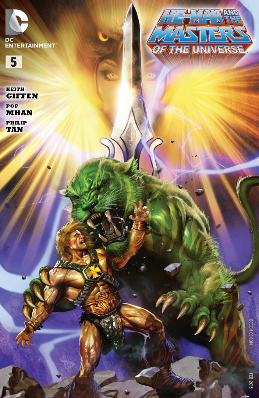 Couverture de He-Man and the Masters of the Universe (2012) -5- The Sword and the Sorceress