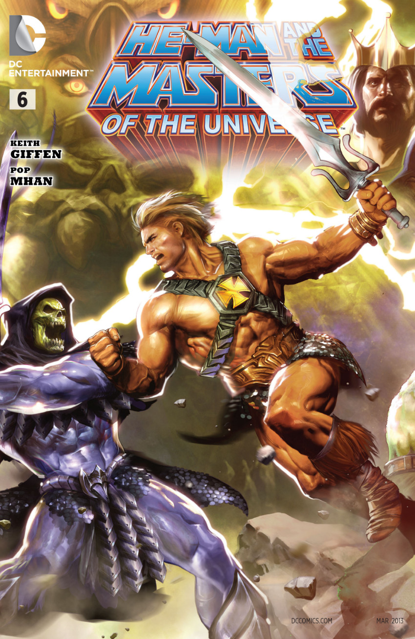 Couverture de He-Man and the Masters of the Universe (2012) -6- The Power