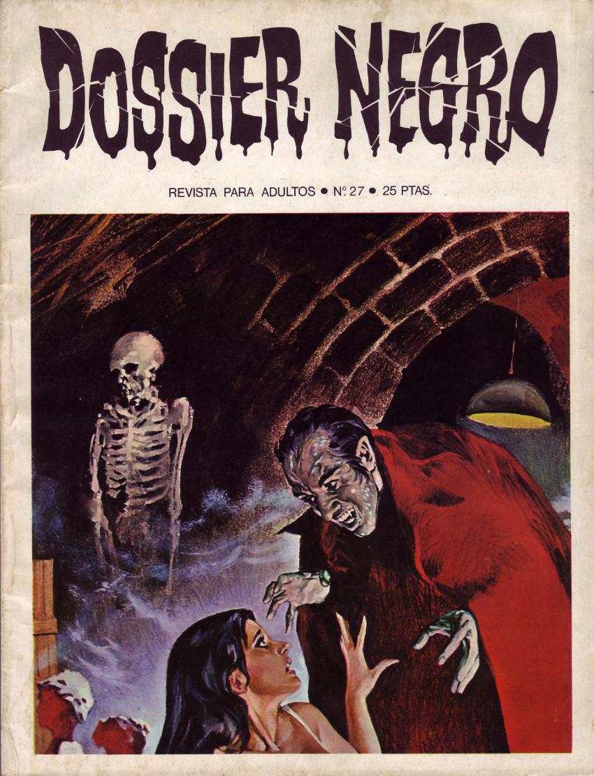 Couverture de Dossier Negro -27- Número 27