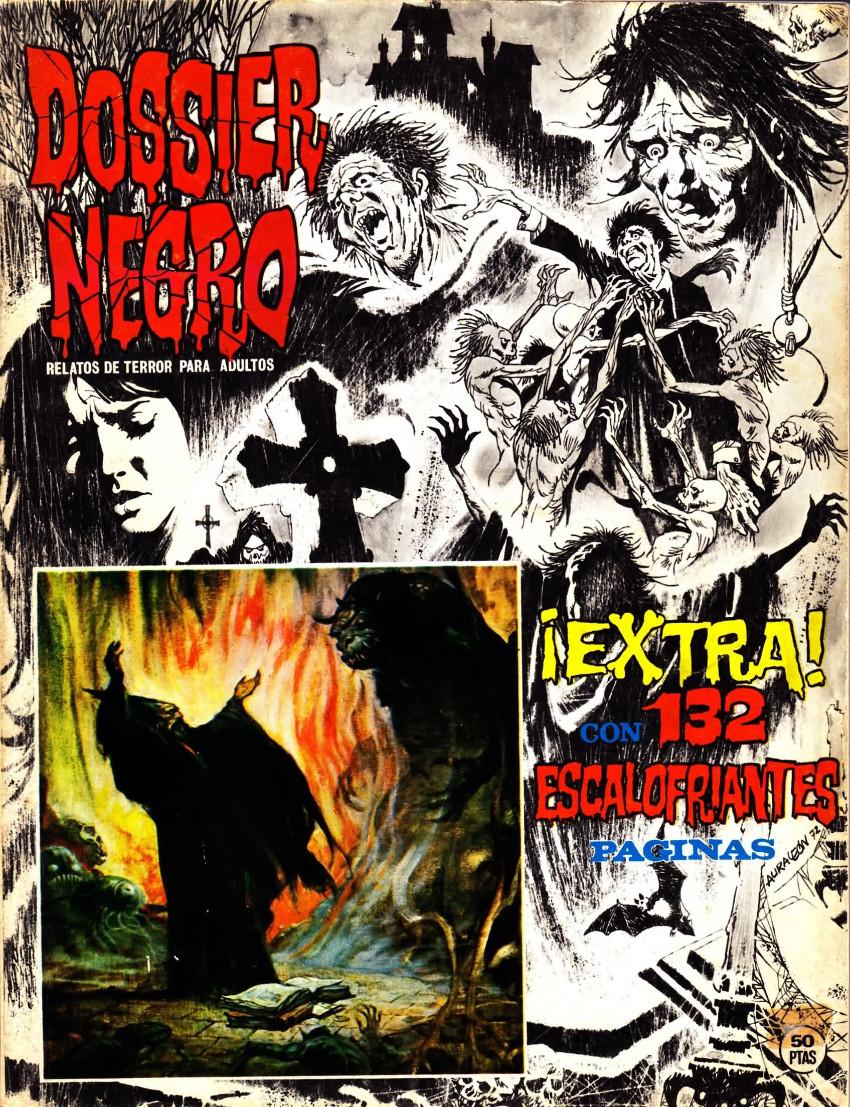 Couverture de Dossier Negro -HS01- ¡Extra!