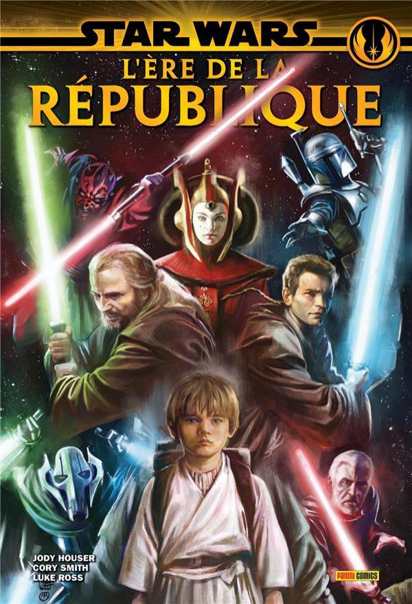Couverture de Star Wars - L'ère de la République -INT- L'ère de la république