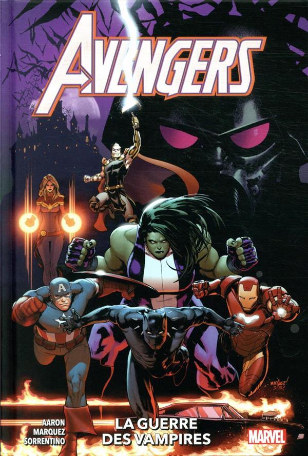Couverture de Avengers (100% Marvel - 2020) -3- La guerre des vampires