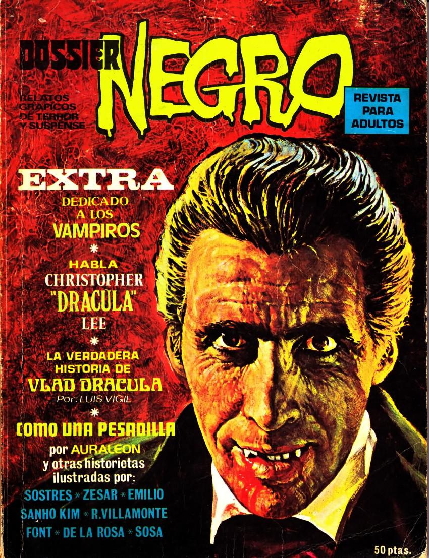 Couverture de Dossier Negro -HS04- Extra dedicado a los vampiros