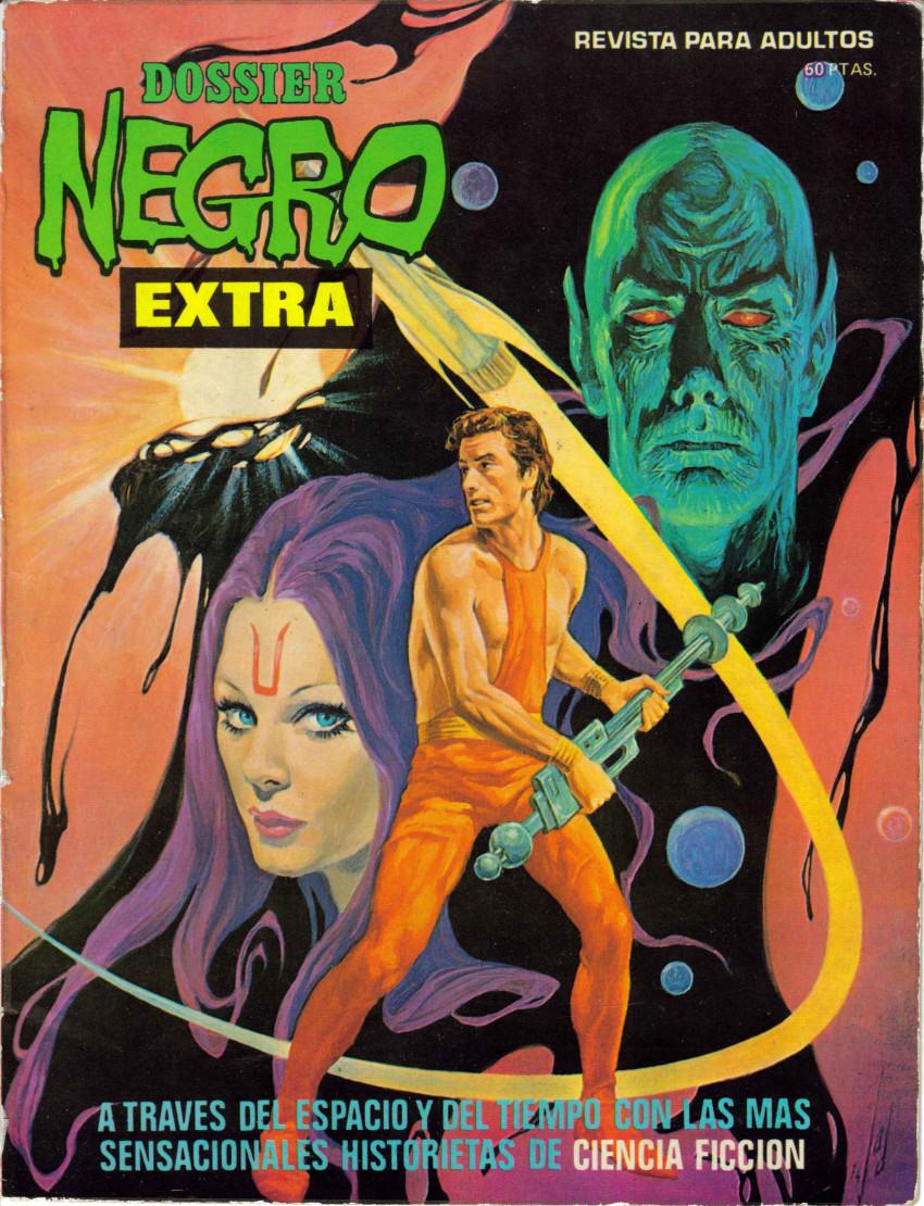 Couverture de Dossier Negro -HS05- Extra ciencia ficción