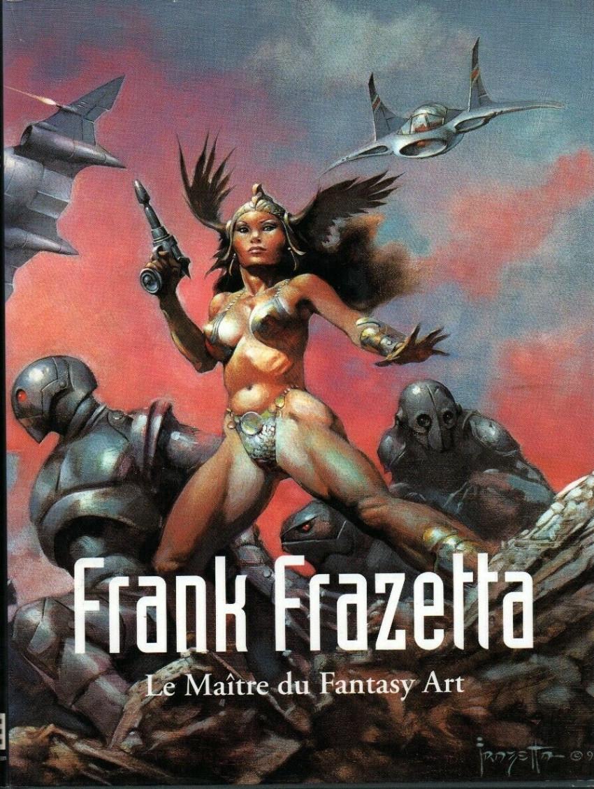 Couverture de (AUT) Frazetta -5- Le maître du Fantasy Art