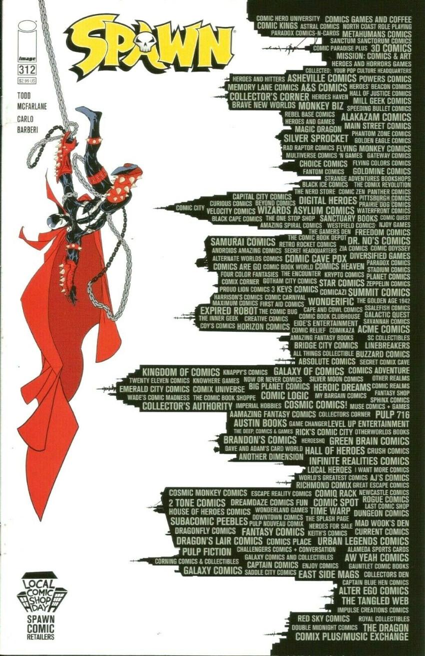 Couverture de Spawn (1992) -312- Cult of Omega, PART 2 of 3