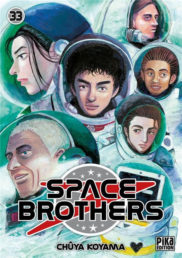 Couverture de Space Brothers -33- Tome 33