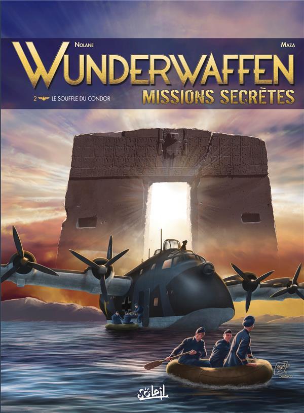 Couverture de Wunderwaffen Missions secrètes -2- Le Souffle du condor