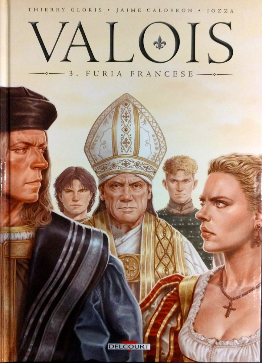 Couverture de Valois -3- Furia Francese