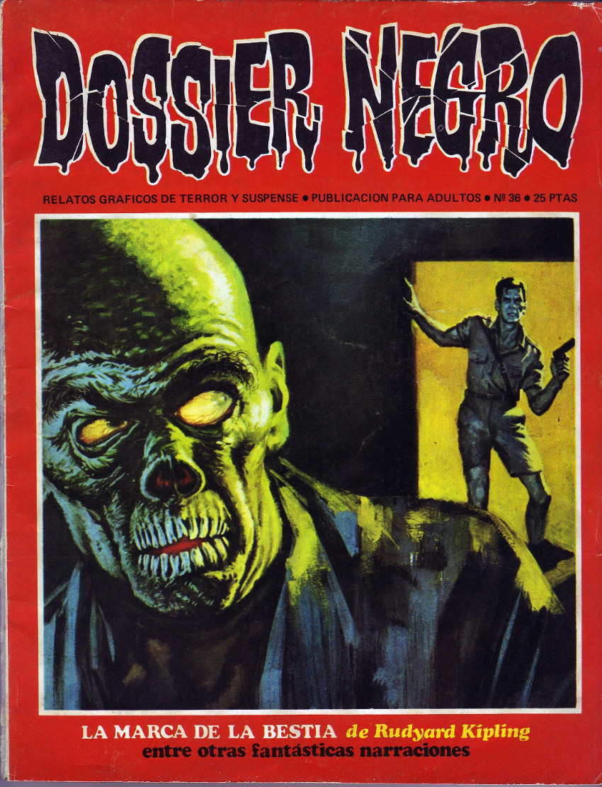 Couverture de Dossier Negro -36- La marca de la bestia