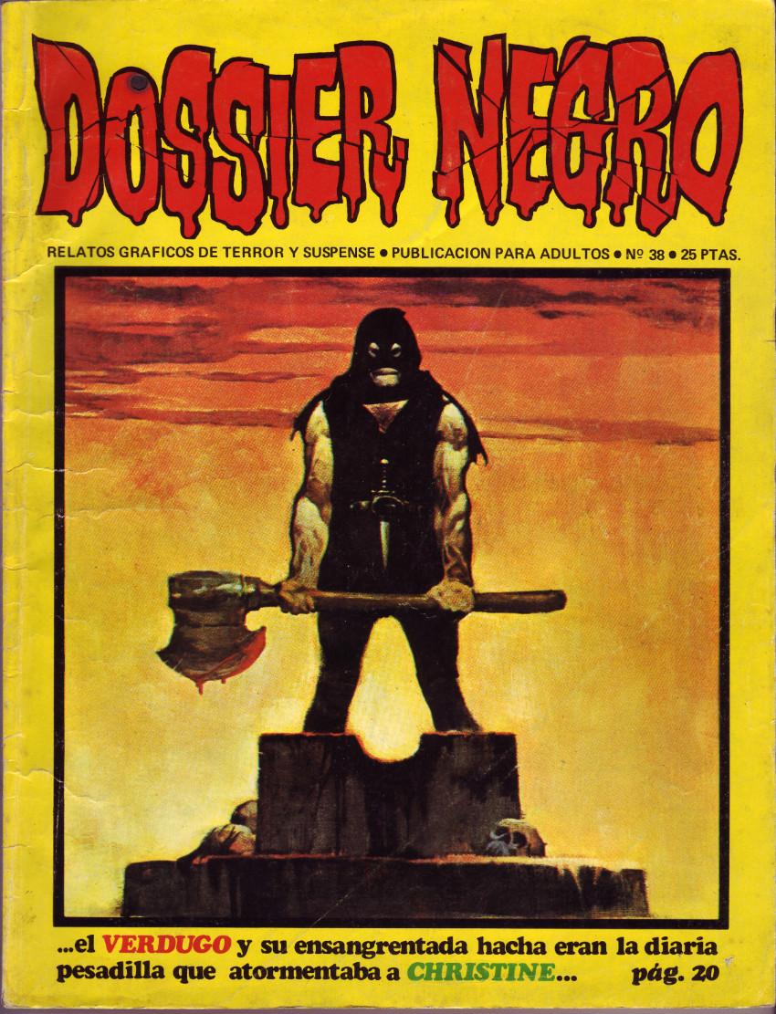 Couverture de Dossier Negro -38- El verdugo