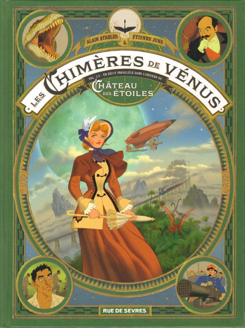 Couverture de Les chimères de Vénus -1- Vol. 1/3