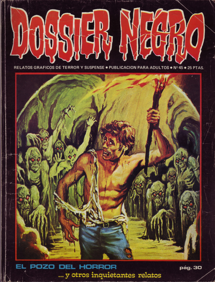 Couverture de Dossier Negro -45- El pozo del horror