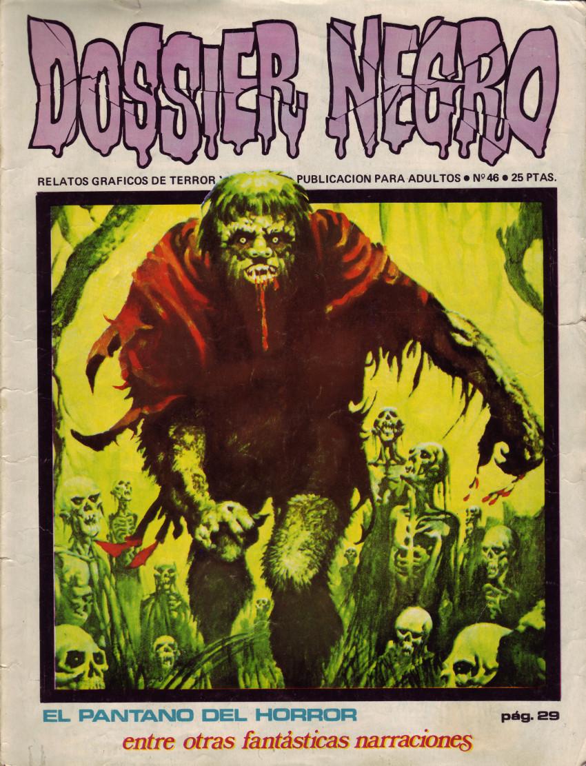 Couverture de Dossier Negro -46- El pantano del horror
