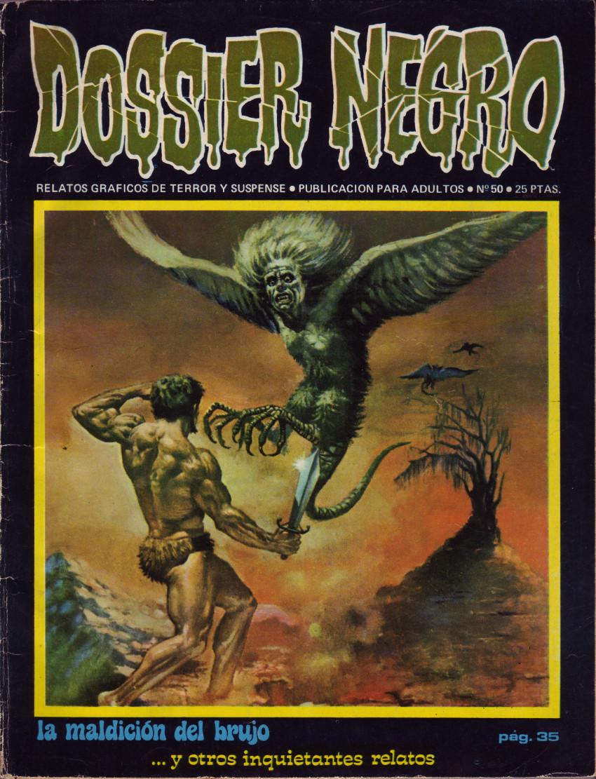 Couverture de Dossier Negro -50- La maldición del brujo