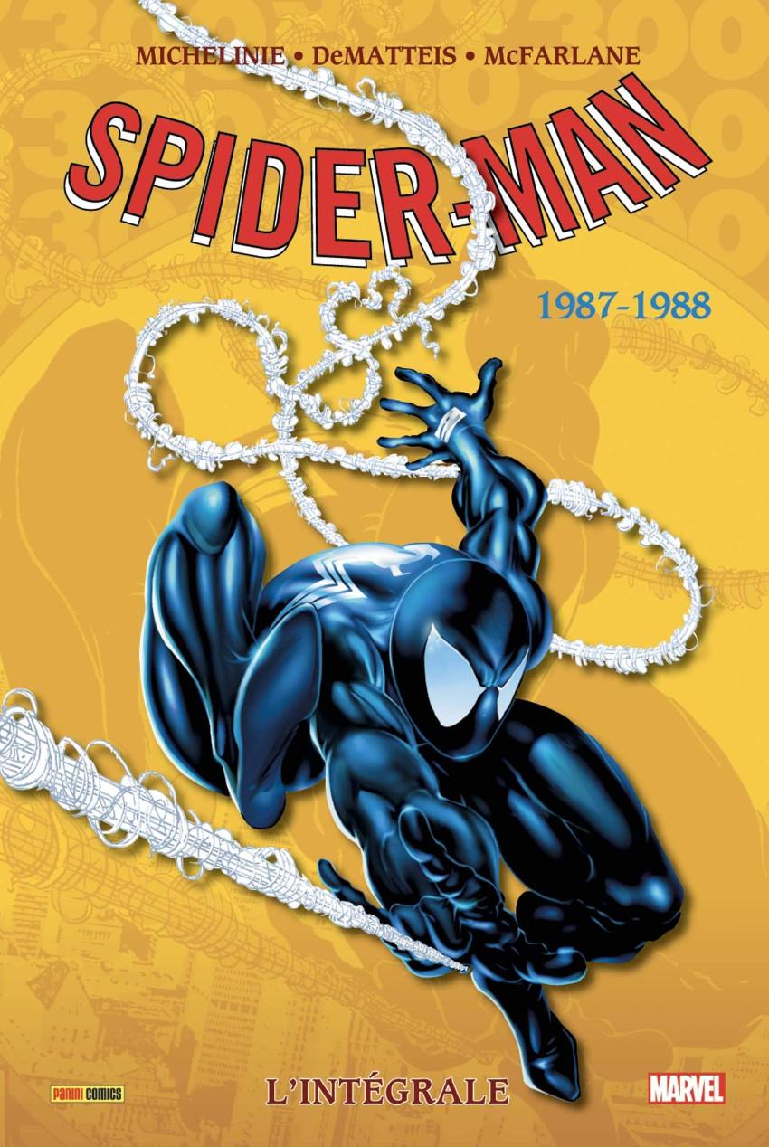 Couverture de Spider-Man (L'Intégrale) -26INT- Spider-man : l'intégrale 1987-1988