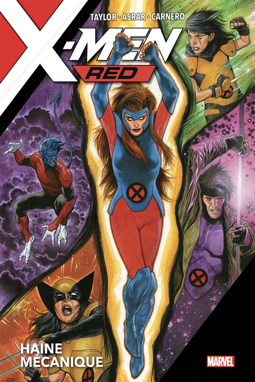 Couverture de X-Men: Red - Haine Mécanique