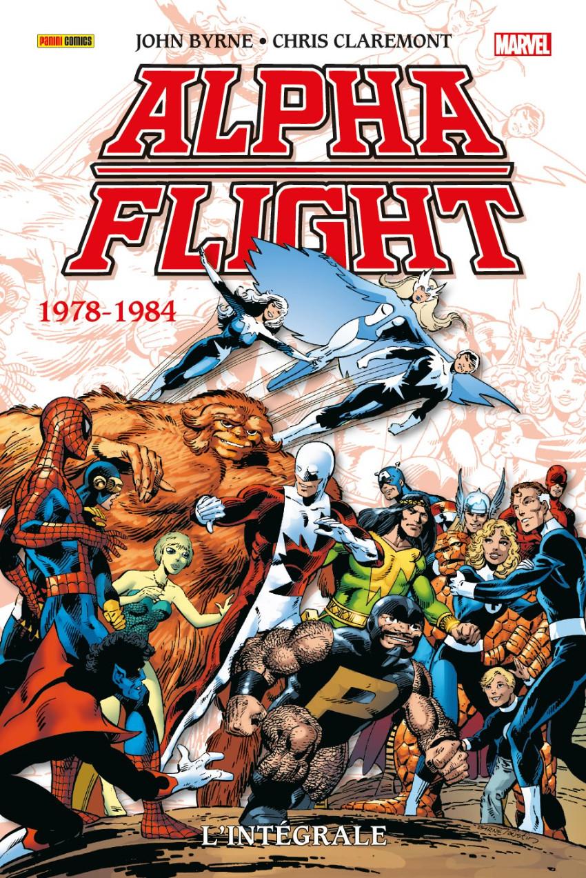 Couverture de Alpha Flight (L'Intégrale) -1- 1978-1984