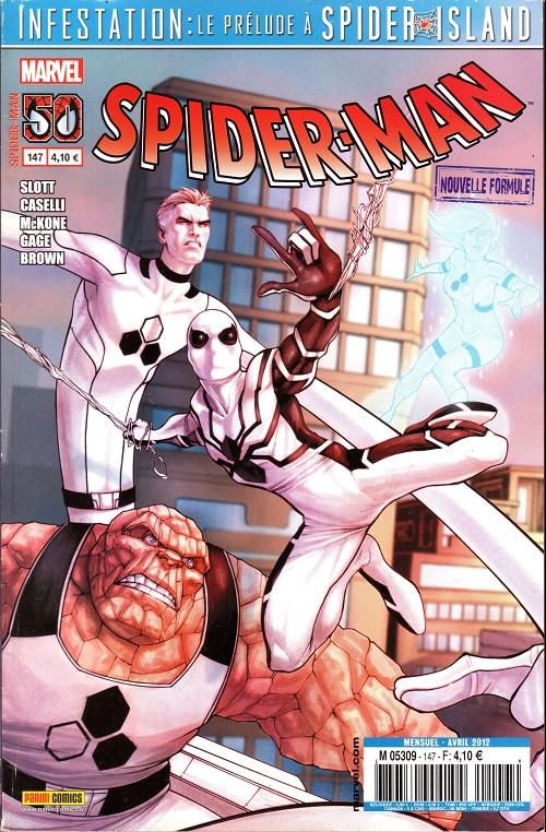 Couverture de Spider-Man (Marvel France 2e série - 2000) -147- Le voyage fantastique