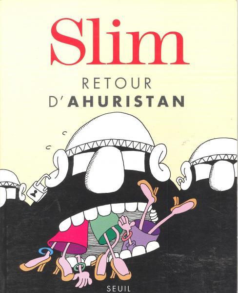 Couverture de Retour d'Ahuristan