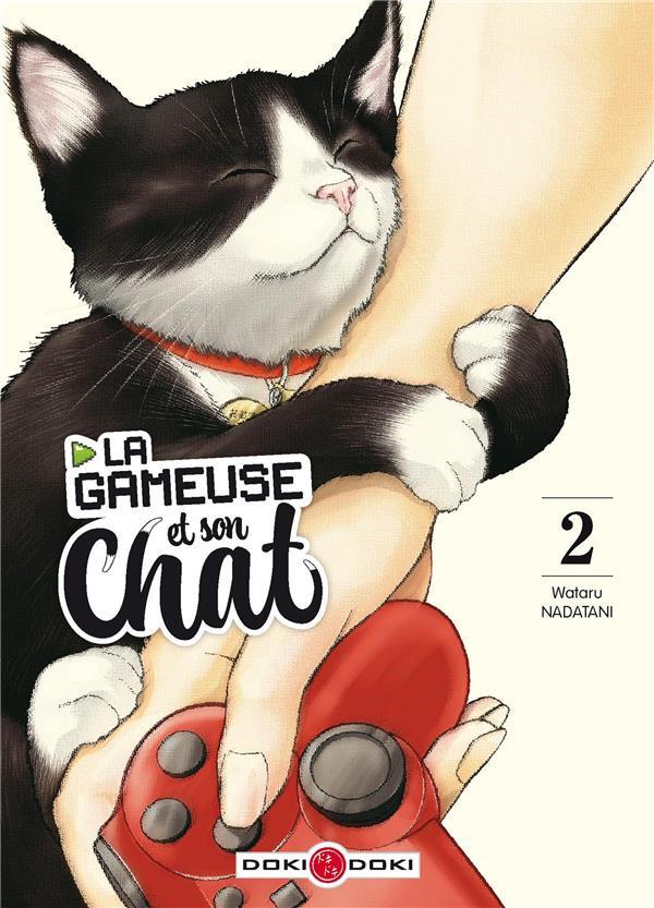 Couverture de La gameuse et son chat -2- Tome 2