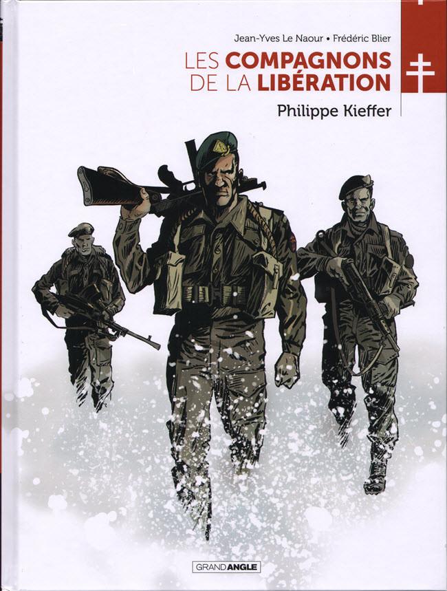 Couverture de Les compagnons de la Libération -5- Philippe Kieffer