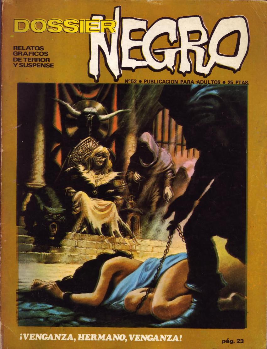 Couverture de Dossier Negro -52- ¡Venganza, hermano, venganza!
