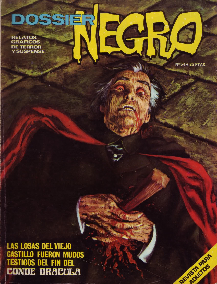 Couverture de Dossier Negro -54- Conde Drácula