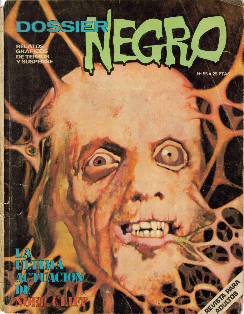 Couverture de Dossier Negro -55- La última actuación de Noel Cliff