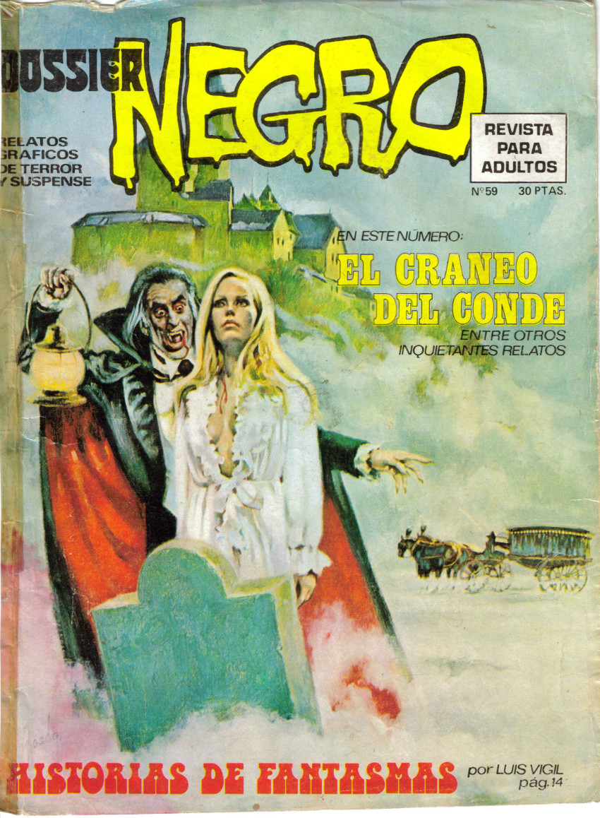 Couverture de Dossier Negro -59- El cráneo del conde