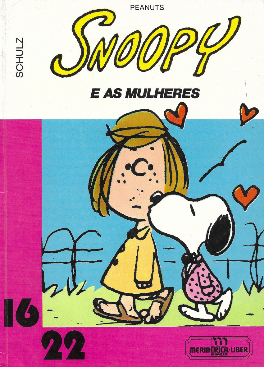 Couverture de Peanuts (16/22) -5(13)- Snoopy e as mulheres