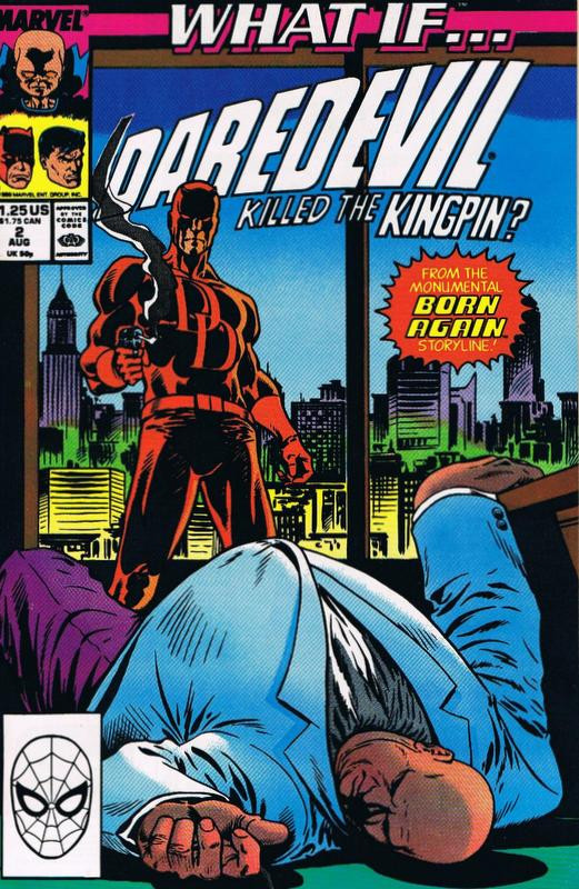 Couverture de What If? vol.2 (Marvel comics - 1989) -2- What If... Daredevil Had Killed The Kingpin?