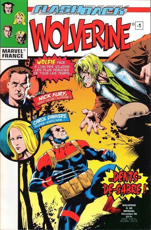Couverture de Wolverine (Marvel France 1re série) (1997) -60- Flashback