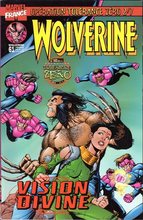 Couverture de Wolverine (Marvel France 1re série) (1997) -61- Vision divine