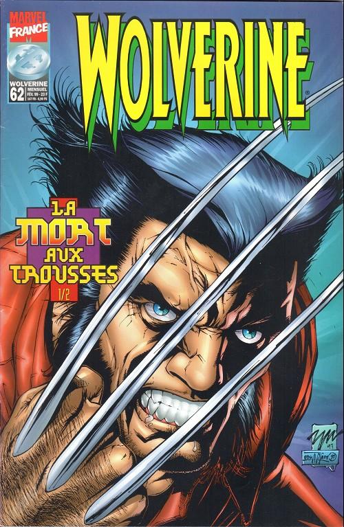 Couverture de Wolverine (Marvel France 1re série) (1997) -62- La mort aux trousses 1/2