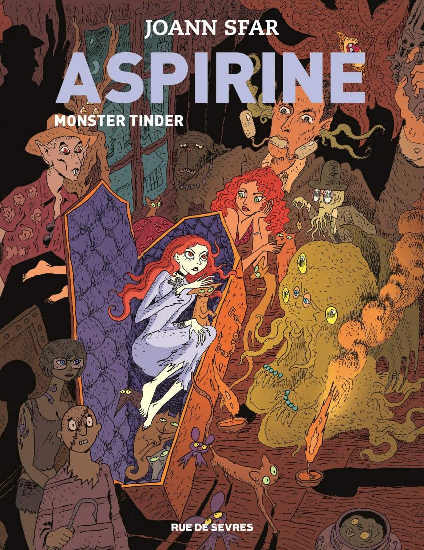 Couverture de Aspirine -3- Monster tinder