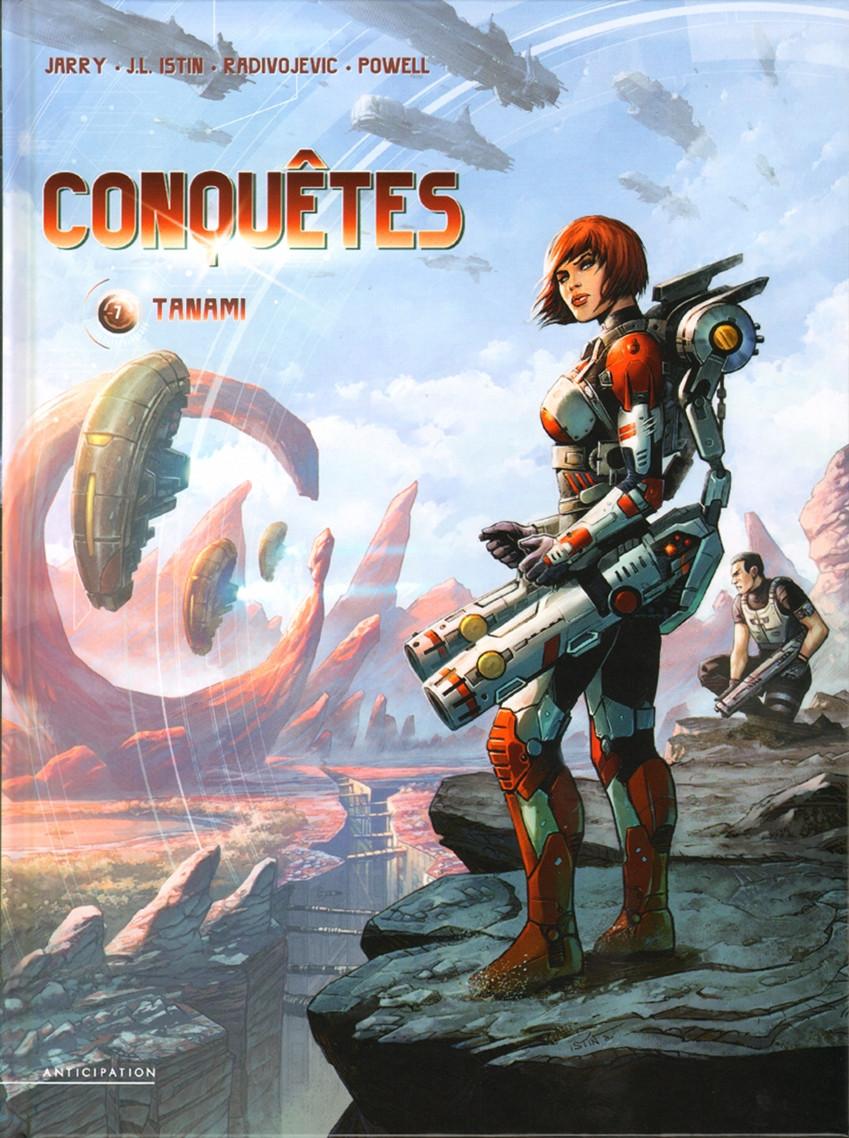 Chronique : Conquêtes -7- Tanami (Soleil Productions)