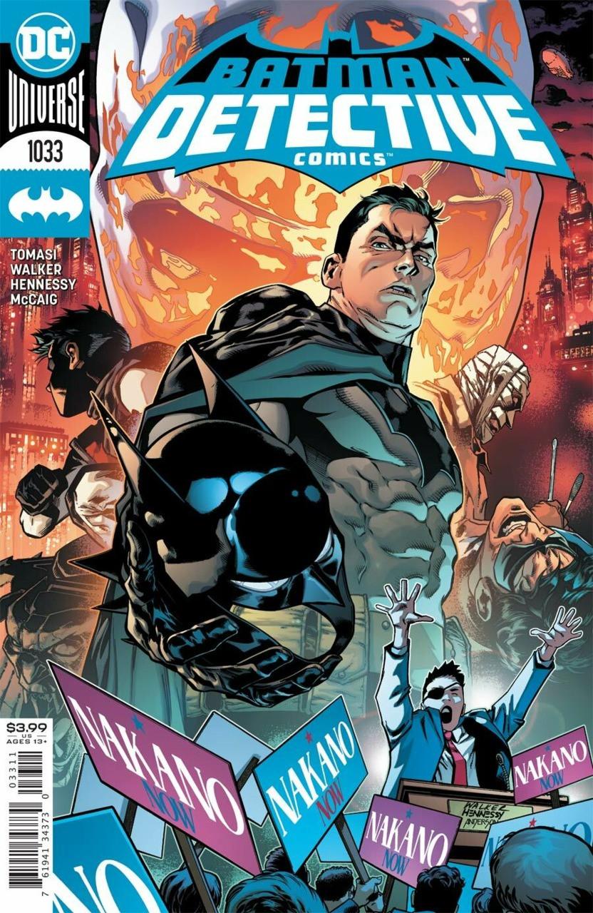 Couverture de Detective Comics (1937), Période Rebirth (2016) -1033- Shut out the Light