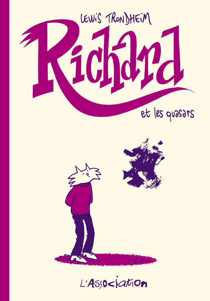 Couverture de Richard (Trondheim) -1- Richard et les quasars