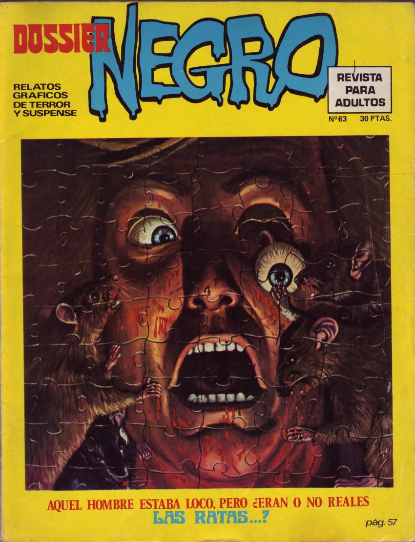 Couverture de Dossier Negro -63- Las ratas