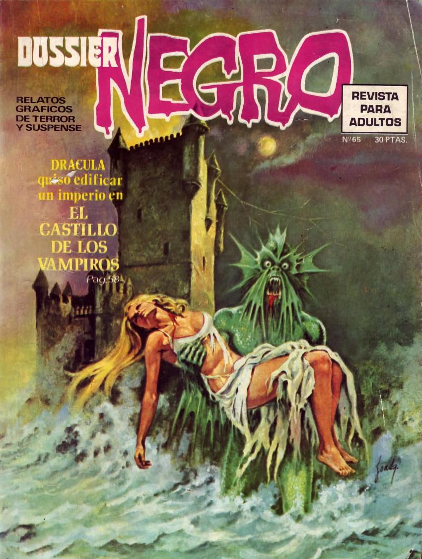 Couverture de Dossier Negro -65- El castillo de los vampiros