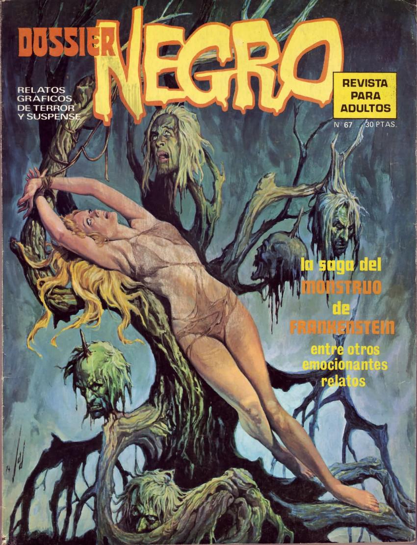 Couverture de Dossier Negro -67- La saga del monstruo de Frankenstein