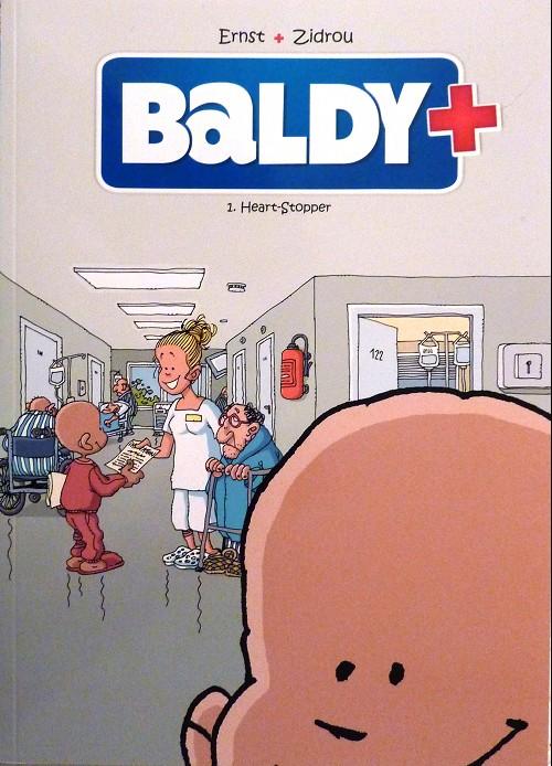 Couverture de Baldy -Num1- Heart-stopper et paqueno corazon fragil