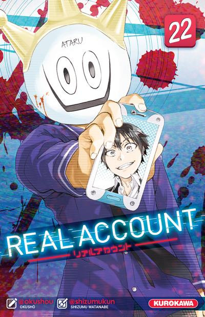 Couverture de Real Account -22- Tome 22