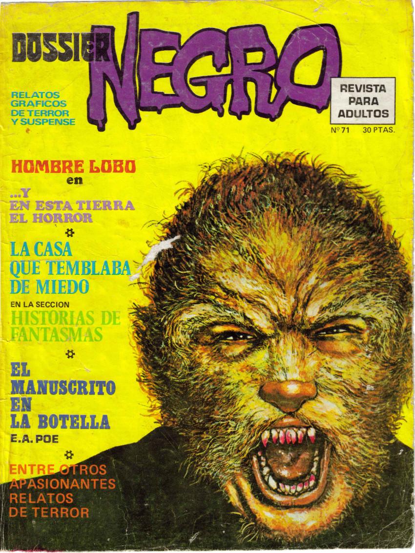 Couverture de Dossier Negro -71- La casa que temblaba de miedo