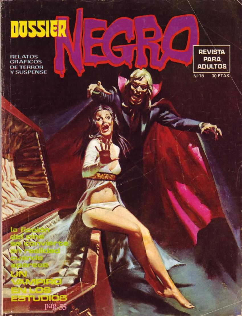 Couverture de Dossier Negro -78- Un vampiro en los estudios