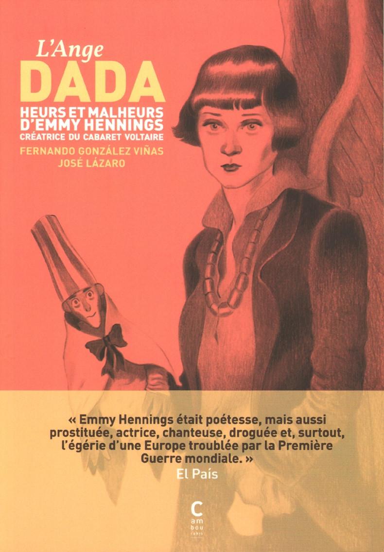 Couverture de L'ange Dada -Extrait- Heurs et malheurs d'Emmy Hennings